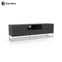 European style wooden lcd tv stand design