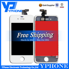 wholesale hot sale screen replacement for iphone 4, touch screen for iphone4, for iphone 4 lcd screen replacement