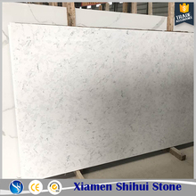 Manufactured White Kitchen Quartz Countertops Low Cost