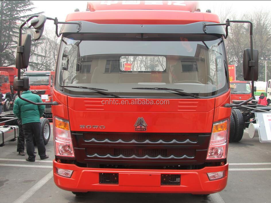 ZZ1107G421CD1 HOWO 4x2 Cargo Truck Chassis