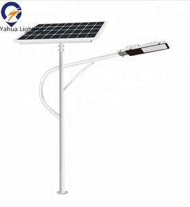 High quality wholesale single arm prices of solar street lights and poles