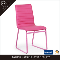 European style solid metal bentwood chair