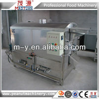 Continuous almond roaster with CE certification