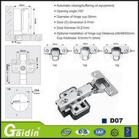 Prompt response good quality aluminium window pivot hinge