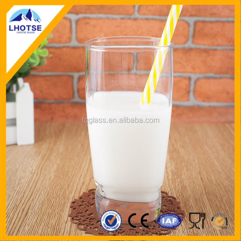 9oz New Designed Rocks Drinking Glass Milk Cups From FaQiang Glass