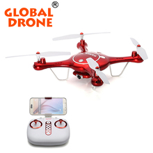 Global Drone Syma X5uw 2.4G 4CH RC Quadcopter WiFi Camera HD 720P FPV Drone Transimission Mobile Control Drone