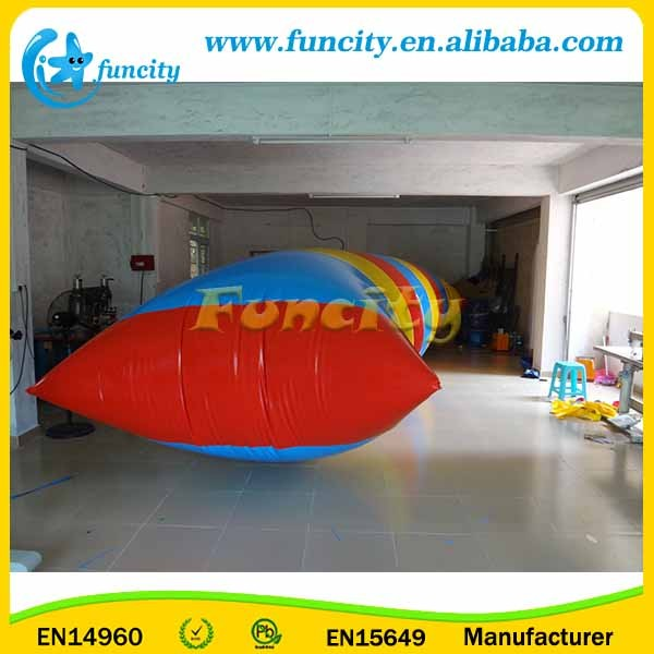 Good Elasticity Inflatable Water Catapult Blob For Water Park Game