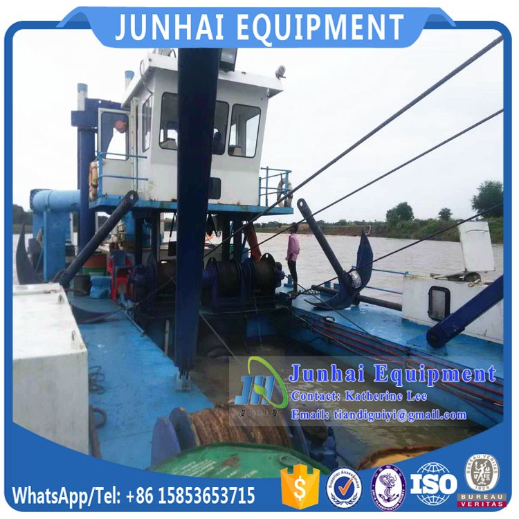 China Reliable Lake Desilting Mini Small Cutter Suction Dredge for Sale