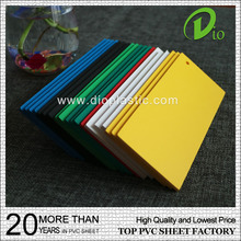 high quality and lowest price 2mm foam board corrugated pvc roofing sheet