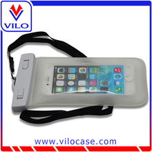 factory OEM universal pvc waterproof phone pouch for swimming