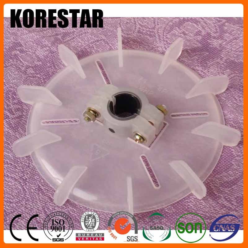 Korestar Spare Part Size Adjustable Plastic Cooling Electric Induction Motor Fan