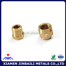 Precision customized brass cnc spare parts