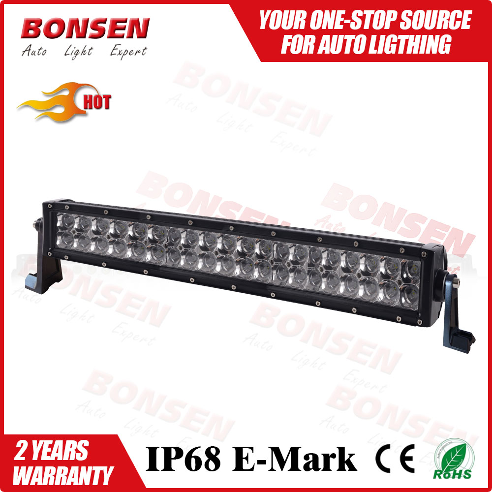 Factory wholesale 12v car led light bar for offroad IP68 CE RoHs led bar single row 240w off road led light bar