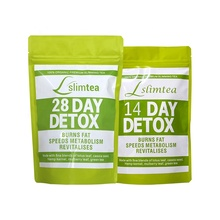 Wholesale OEM Organic Herbs Body Detox Tea For Weight Loss 28 Day Detox