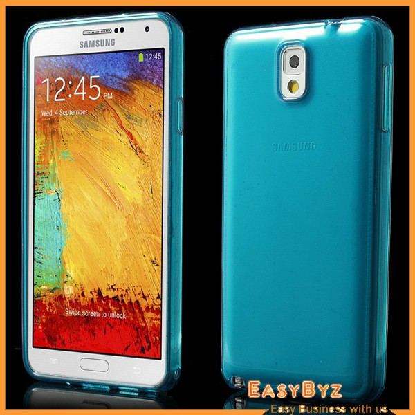 cell phone accessories for Samsung Galaxy Note 3 N9005 N9000 TPU Case