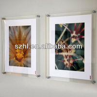 Wall mounted acrylic poster displays acrylic poster display stands