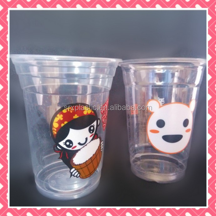 2015 New Custom Design 3D Plastic Cup manufacturer, plastic cup manufacturer, can make your own design logo cup