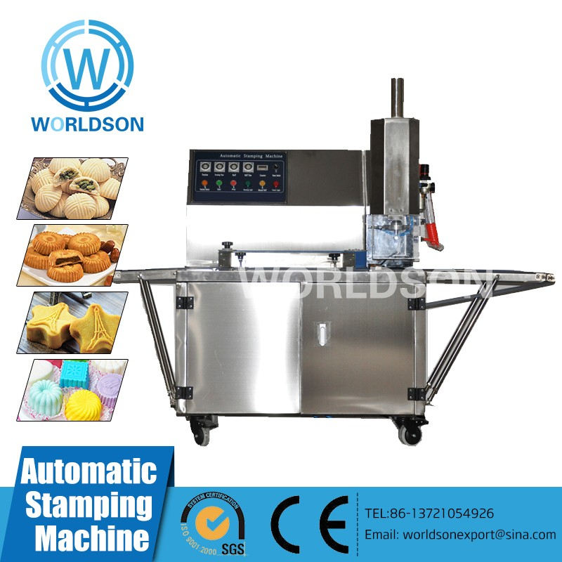 Double Filling Moon Cake Pumpkin pie forming machine
