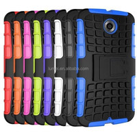 2015 Newest Defender Shockproof Stand Case For Moto Google Nexus 6