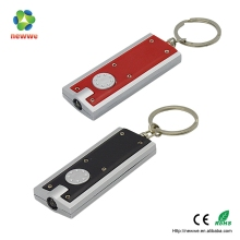 Custom plastic Led keychain OEM custom plastic led light keychain