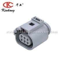 6 Way Female Car Connector Plug For VW Jetta Rabbit Golf GTI MK5 Passat B6 1J0 973 713G