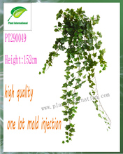 Close Nature artificial Plant Green / Variegated English Ivy bush home decration hanging wall vine