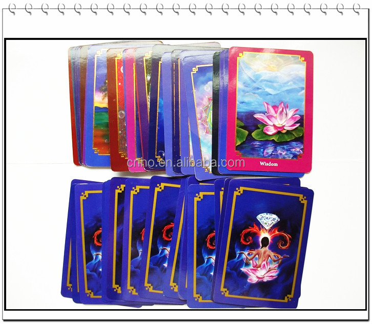new design paper game decks wholesale custom printed tarot cards
