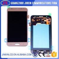 Mobile Phone accessories for galaxy J5 Digitizer touch LCD Screen 12 months warranty