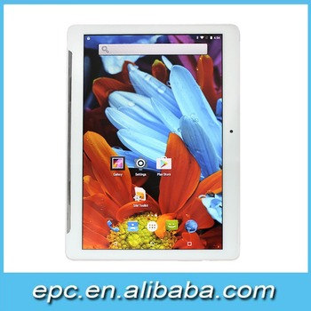 3G Tablet Pc Android 5.1 OS 9.6 inch MTK6580 Quad Core 1GB RAM+32GB ROM 1280*800 IPS 5MP Camera