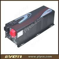2000W 60Amp Pure Sine Wave 12/24v 220v dc to ac solar Power Inverter 2KW with high efficiency MPPT function
