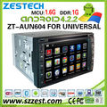 ZESTECH OEM Factory 2 din android universal car radio with GPS A9 Chipset
