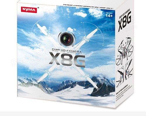 Original syma x8g 4ch rc quadcopter drone with 8mp camera