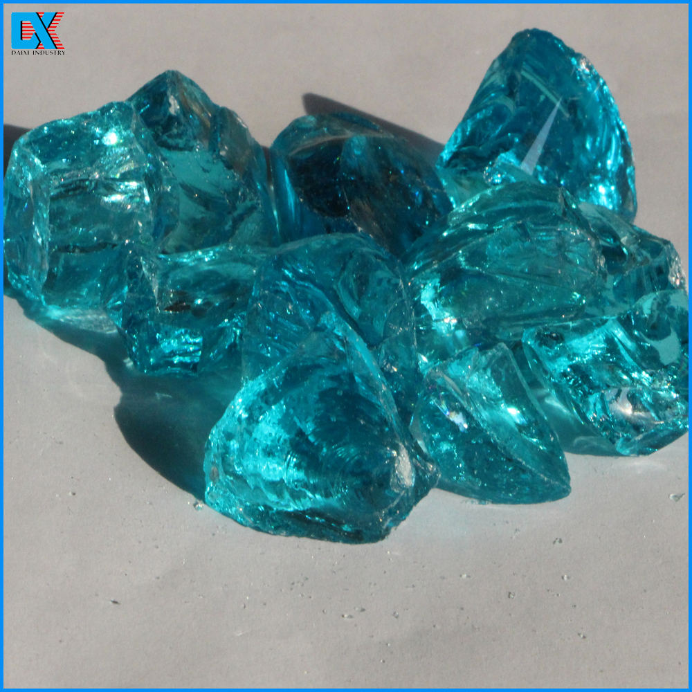 China Wholesale Landscaping Glass Boulders