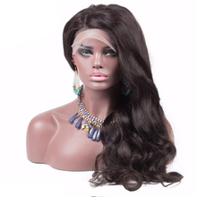 8a 9a high ponytail glueless full lace wig long braided lace front wigs virgin hair wigs 100% human hair