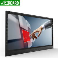 EIBOARD Screen 65 inch 70 inch 84 inch LED interactive touch display for education with built-in OPS