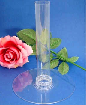 Acrylic Flower Cart Display
