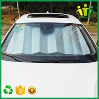 Hot selling cheap custom PVC foldable car sunshade windshield cover