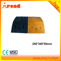 Industrial 500*350*50mm rubber speed bump for road safety