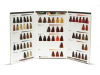 Customizable Natural Hair Dye Color Swatch Book