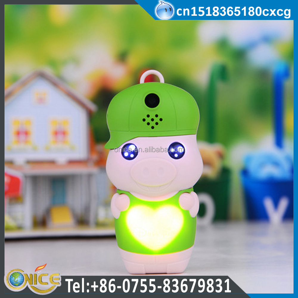 Z18+ mini cute CDMA800 single SIM FM radio bar mobile phone cartoon McDull design for kids
