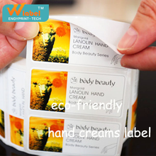 Custom Printing Private Logo Waterproof Adhesive Cosmetic Bottle Label,Wholesale Roll Vinyl Cosmetic Bottle Labels