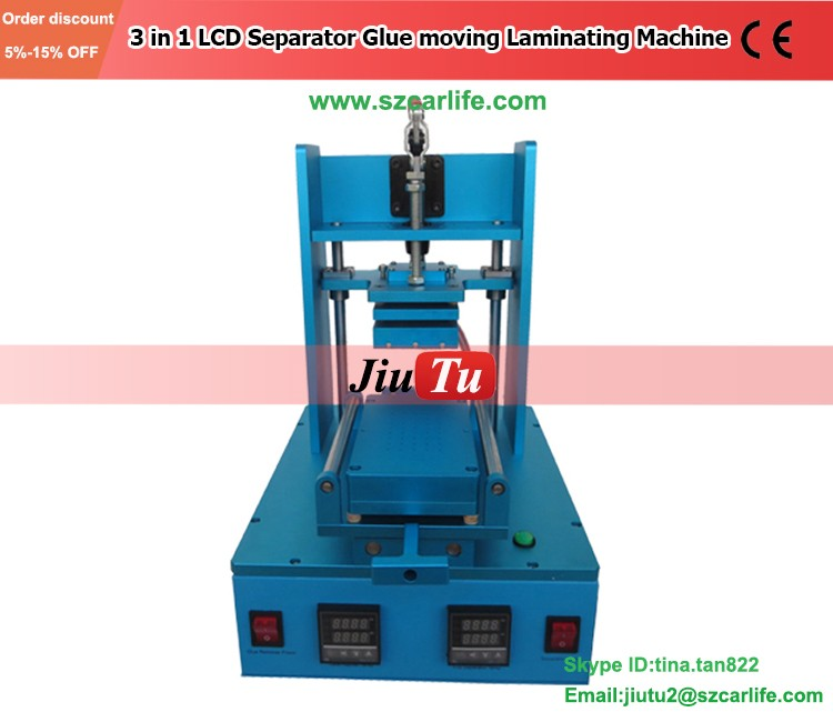 Lcd Glue Remover Machine Touch Screen Oca Separator Lcd Refurbishing Frame Bezel Laminating Machine For Mobile Phone