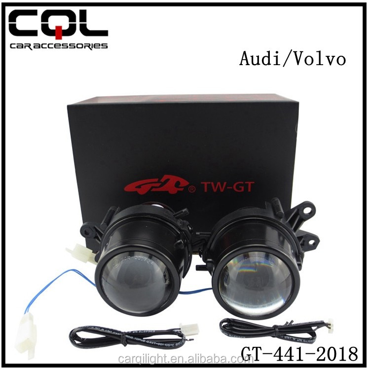 2.5inch auto front fog lamps,GT Fog lamp for VO-LVO car,H/L yellow fog lamp