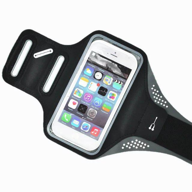 Universal Sport Running Arm Band Case for iPhone 6 6S Gym Waterproof Workout Arm PU Phone Bag Arm Belt Leather Cover Case