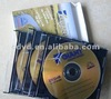 Blank CDR&DVDR slim cd jewel case in cardboard box packaging