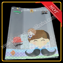 New style custom-made clear printed pvc book cover