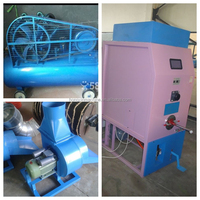 High speed toy pillow cushion fiber filling machine