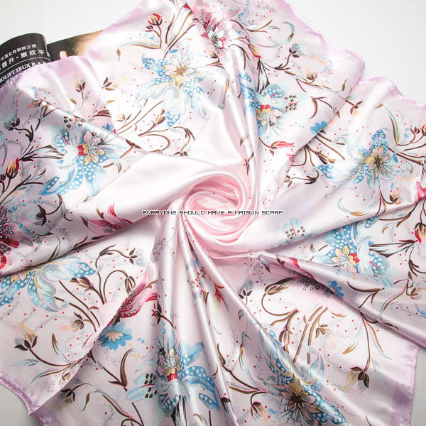 hot selling big sqaure polyester cheap scarves women 90 x 90 2015