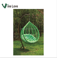 6-3 swing hanging outdoor chair basket