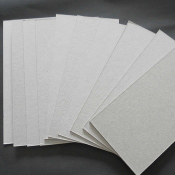 High quality board paper grey back duplex board factory for packing